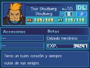 Ficha Thor Stoutberg Equipo Blaze