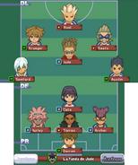 White Team formation