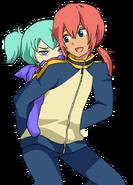 Rinnie baby and Kirino ranmaru