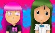 Rosa y Ashley