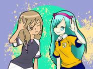 Sari y Yoshino Collab