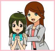 Ako y Himeko madre e hija