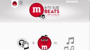 Bite size beats menu
