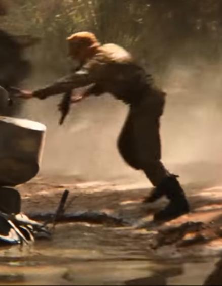 Desert chase sidecar passenger