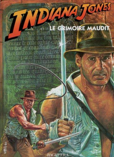 Indiana Jones et le Grimoire Maudit