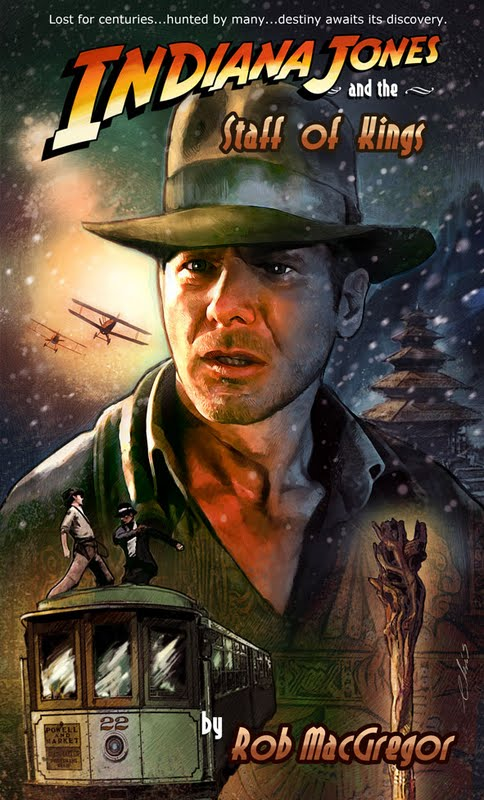Indiana Jones and the Staff of Kings (novel)