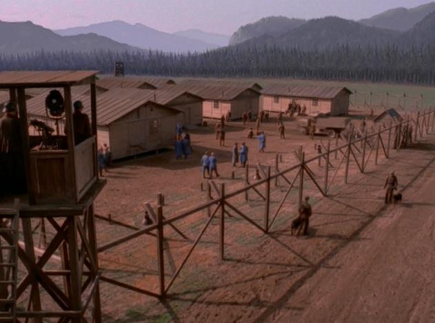 German prison camp