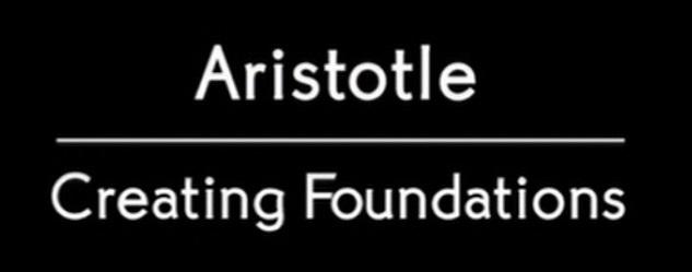 Aristotle - Creating Foundations