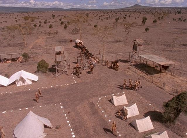 Von Lettow's camp