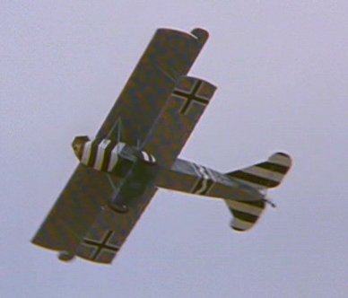 Göring's biplane