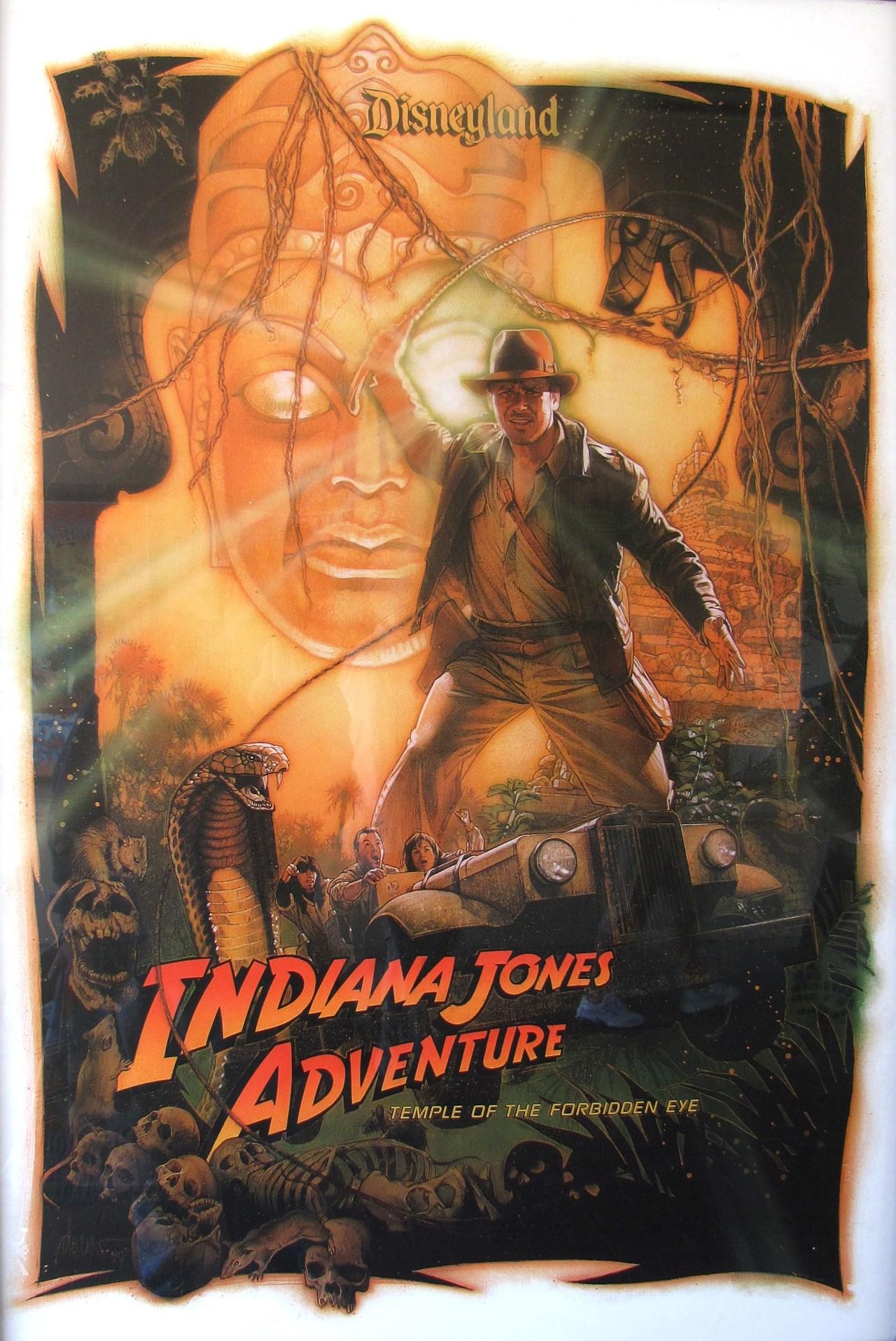 Indiana Jones Adventure: Temple of the Forbidden Eye