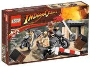 LEGO Motorcycle Chase