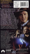 VHS Back Cover Young Indy Russian Revolution with Sean Patrick Flannery and Beata Pozniak