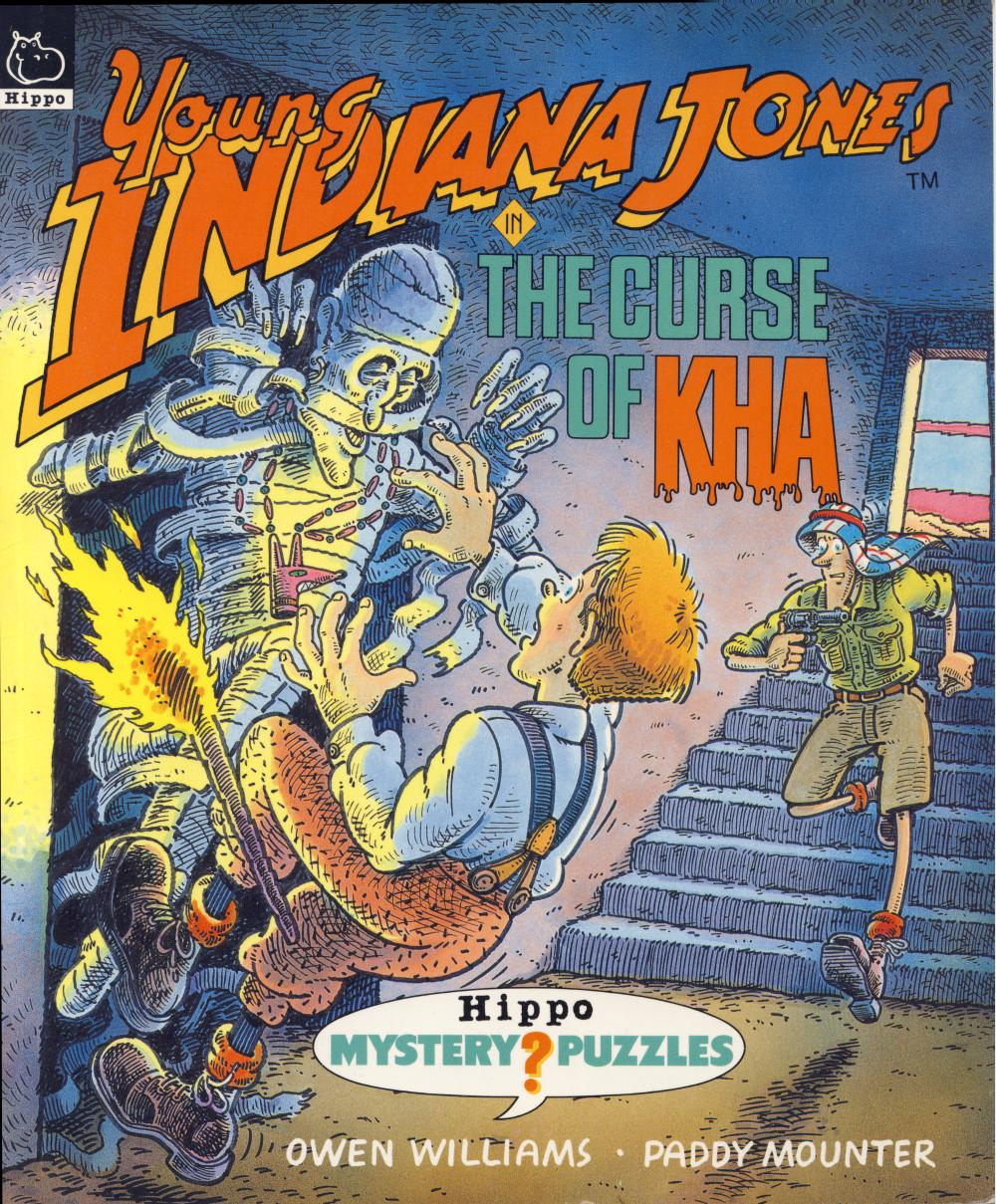 Young Indiana Jones in the Curse of Kha