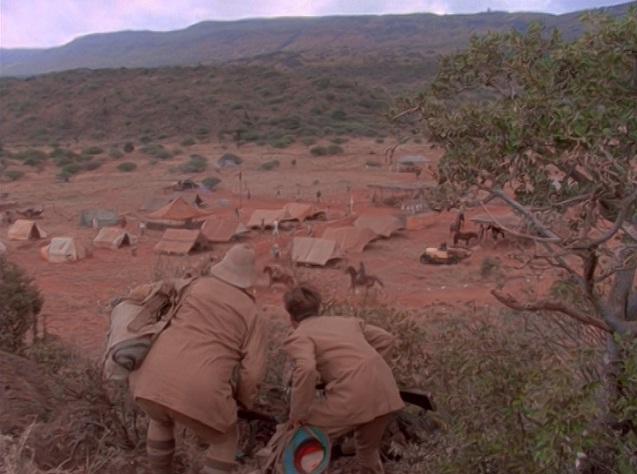 Frontiersmen's camp