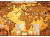 Indiana Jones World Map