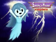 Spooky s house of jump scares march poster by stylishkira-d8lendu.png