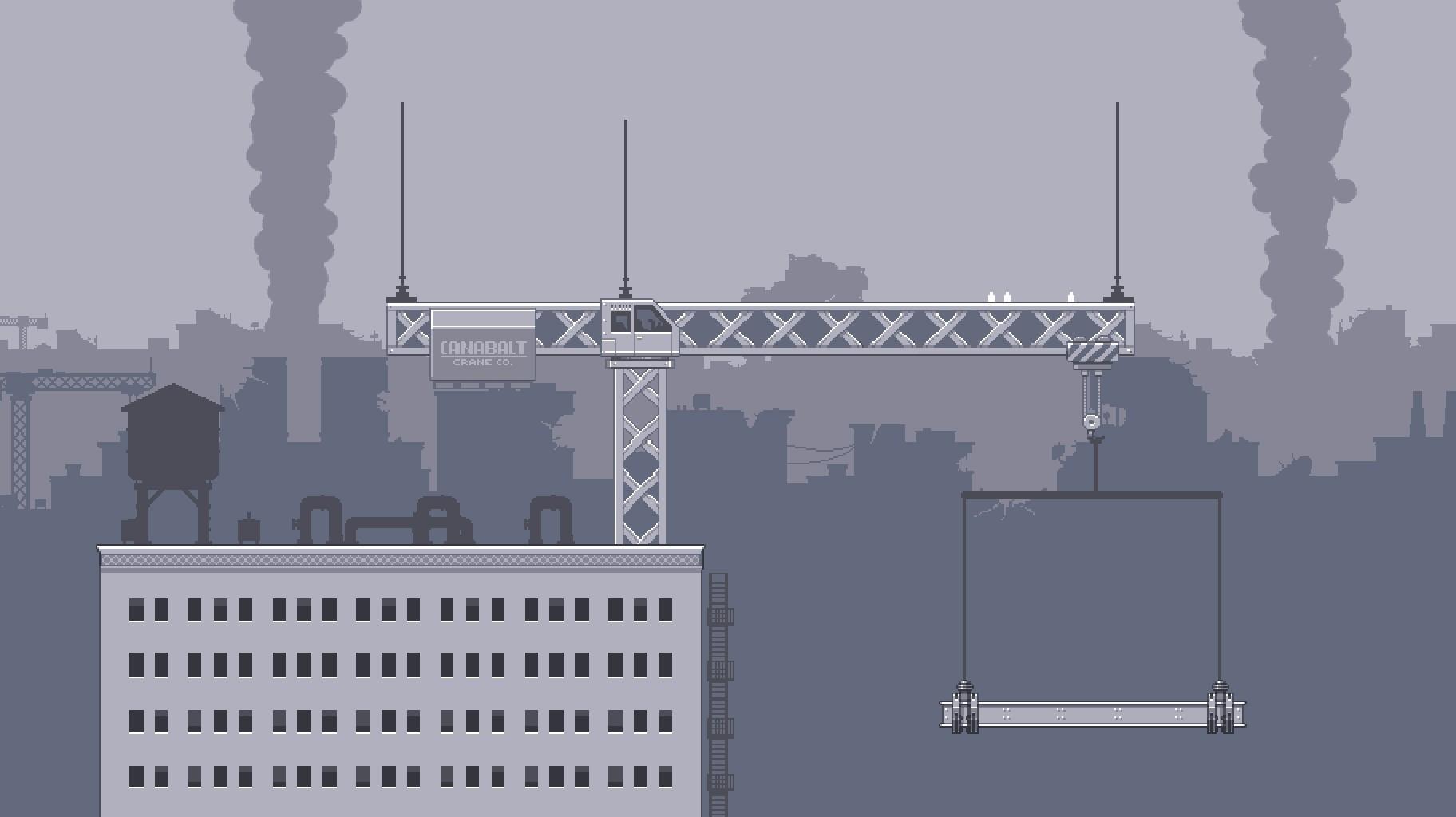 Canabalt Skyline