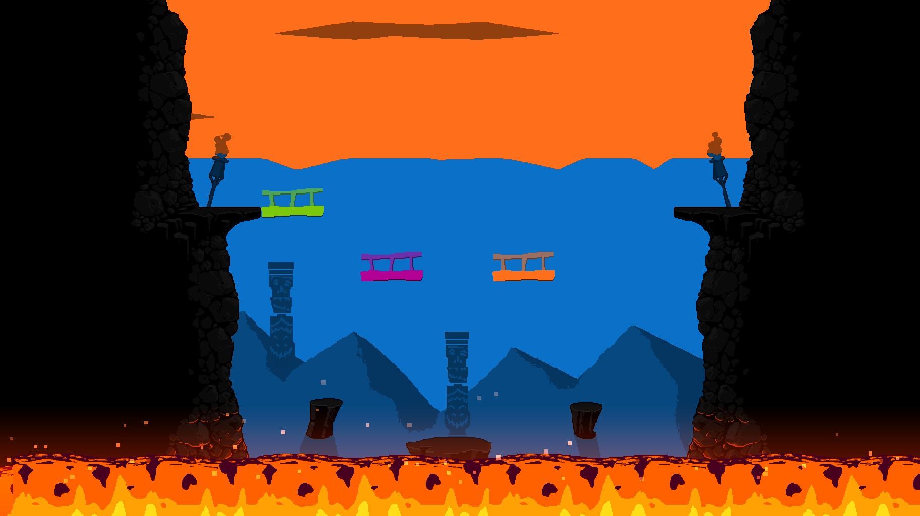 Runbow Volcano