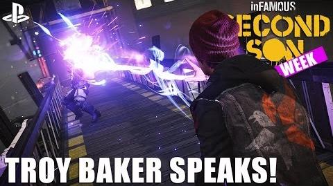 InFAMOUS Second Son auf PS4 - Troy Baker spricht darauf Delsin Rowe zu sein