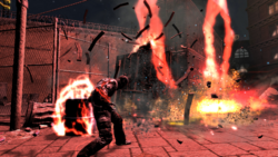 Evil Cole's Lightning Storm in inFamous.PNG