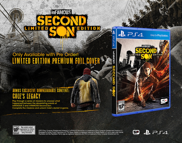 Redexx/10-17-13: I:SS Collector's Editions and Cole's Legacy