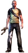 Cole MacGrath from Infamous 2 render
