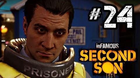 InFAMOUS Second Son Gameplay Walkthrough Part 24 - Mission Reggie Takes Flight HD 1080p