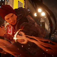 InFAMOUS Second Son-Delsin smoke swirling night.png