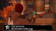 InFAMOUS Second Son - Side Missions - All Informant Audio Logs