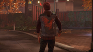 Delsin as a Most Wanted