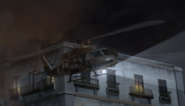 Militia helicopter side