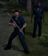 NMPD Police with RPG