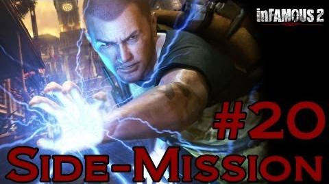 Infamous 2 Walkthrough - Side-Mission 20 Checkpoint