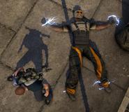 Militia captured member