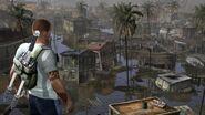 Flood Town inFAMOUS 2