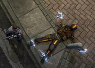 Militia shotgunner captured