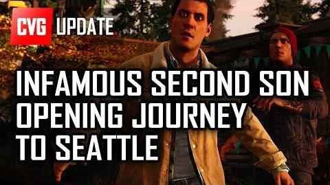 Infamous Second Son Opening - Die Reise nach Seattle