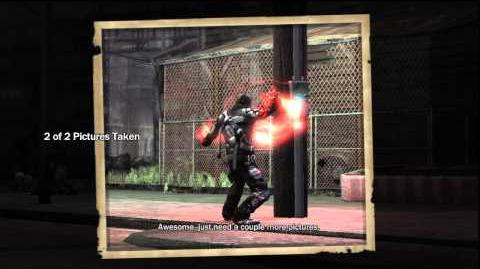 InFamous The Photographer Side Mission