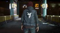 Delsin wearing Lone Wolf vest