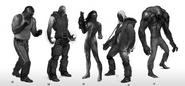 IF2 Enemies Concept Art