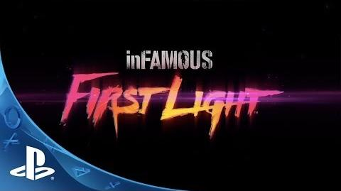 InFAMOUS First Light Announce Trailer E3 2014 (PS4)
