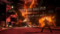Zły Cole przyzywa Burzę jonową (inFamous 2)