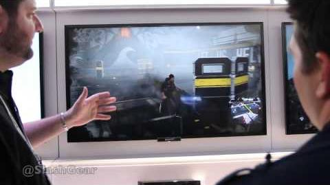 Infamous Second Son gameplay hands-on offscreen at CES 2014