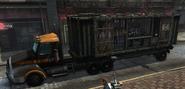 Militia prision truck