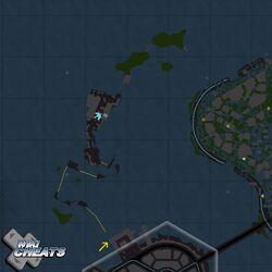 Infamous 2 Dead Drop map west island 2.jpg