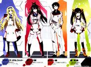 IS Volume 1 color characters Okirua