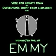 Infinity Train Emmy nomination doodle by Owen Dennis