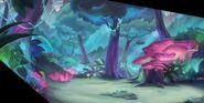 The Jungle Car background by Bridget Ore 2