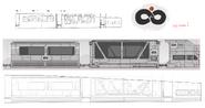 Infinity Train pilot sketch design